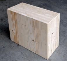 Massiv Holz Mauer