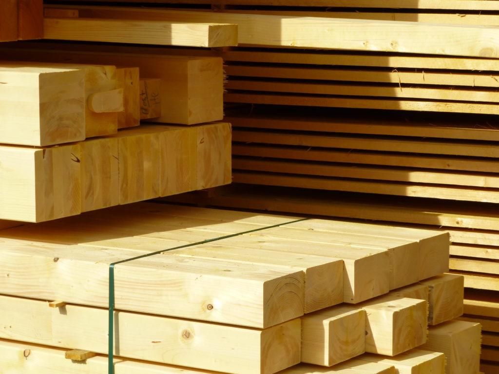 Bauen mit Holz - klimaneutral