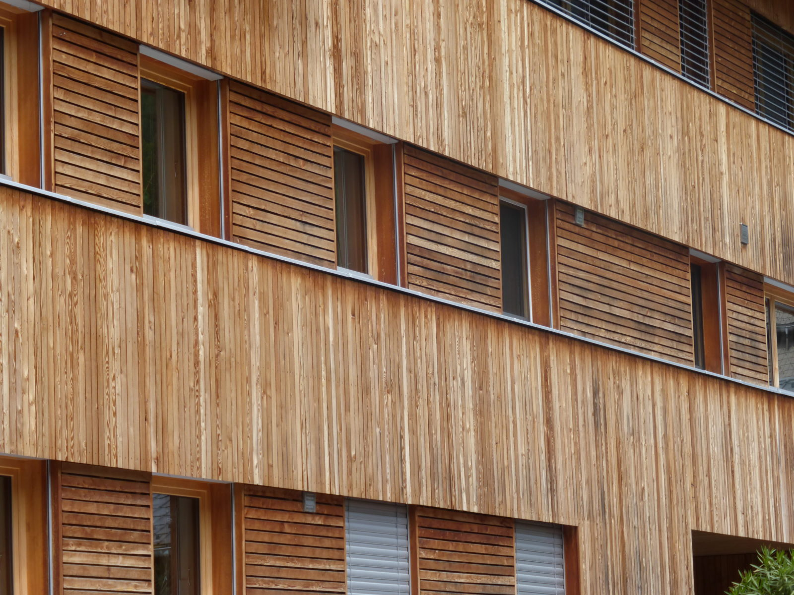 Hohe Wärmedämmung beim Holzbau